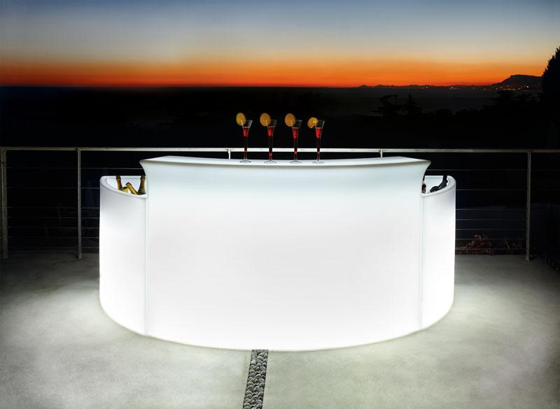 Bar m/lys udlejning leje