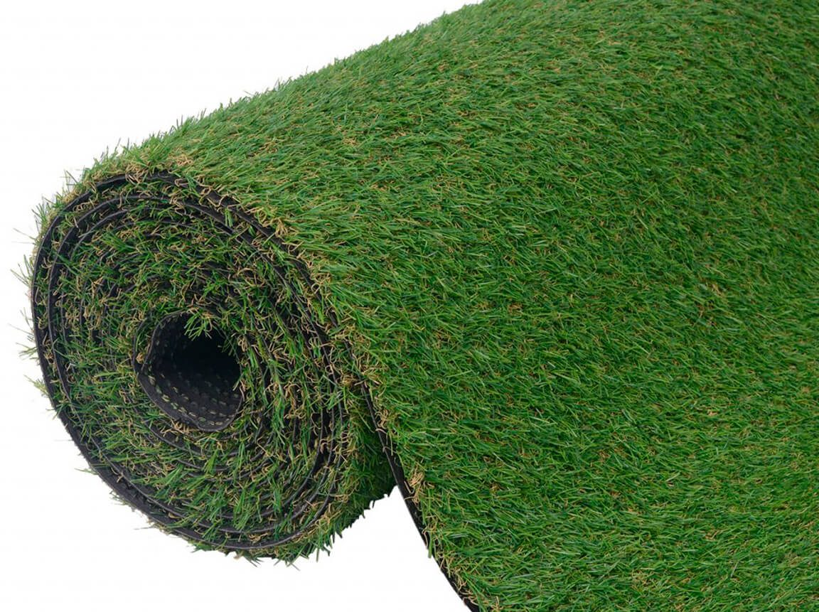 Udlejning / leje af kunstgræs. Super fint og naturtro kunstgræs udlejes. Lejepris pr. dag kr. 450,-