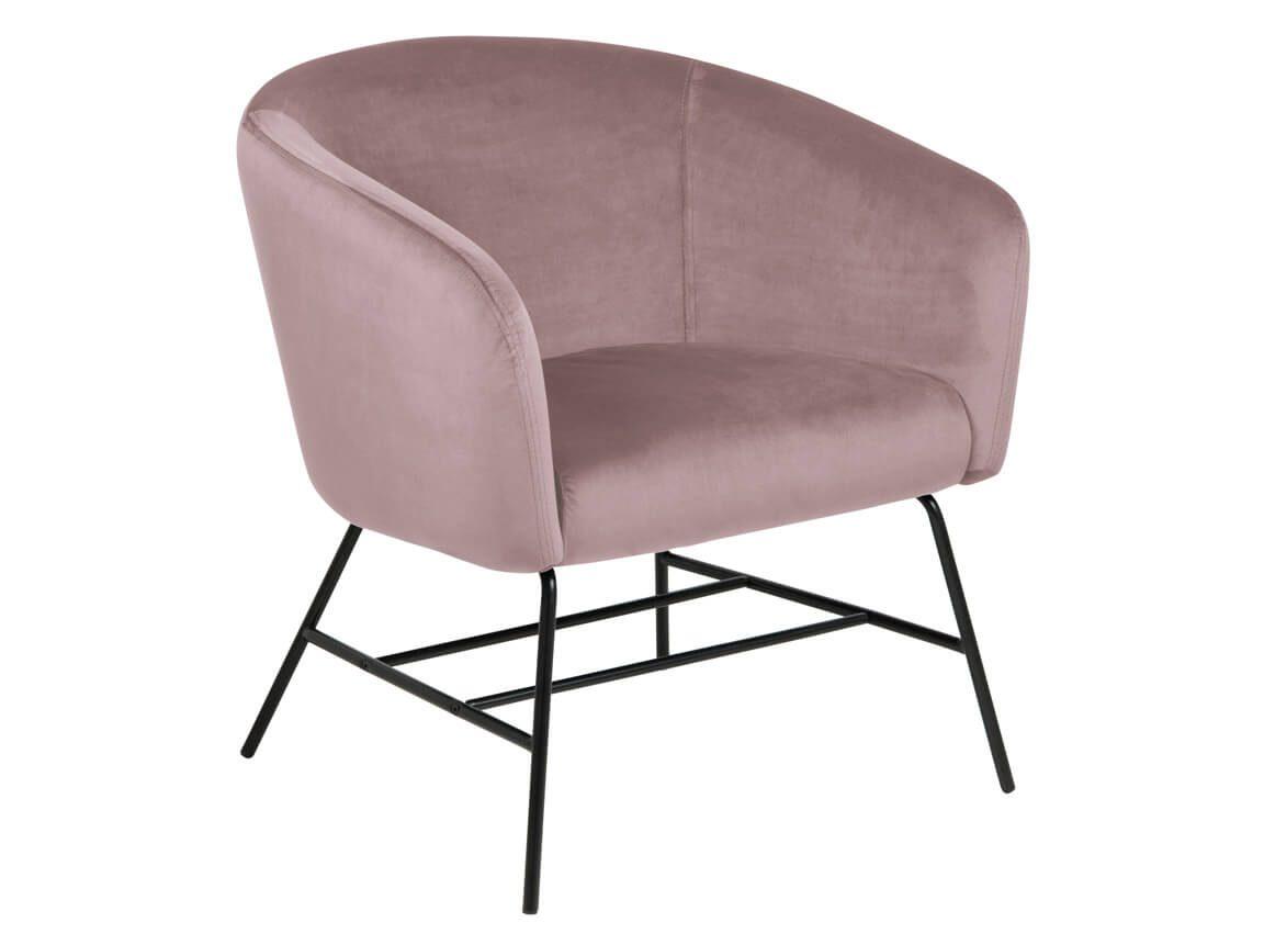 Udlejning / leje af rosa velour hvilestol. Super flot stol i rosa velour. Sofaer og andre stole i samme serie. Lejepris pr. dag kr. 575,-