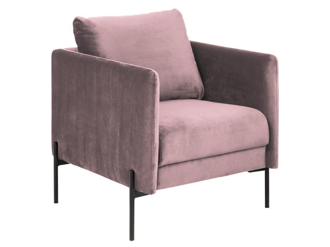 Udlejning / leje af rosa velour sofastole. En flot stol i rosa velour. Perfekt sammen med vores sofa i samme serie. Lejepris pr. dag kr. 975,-