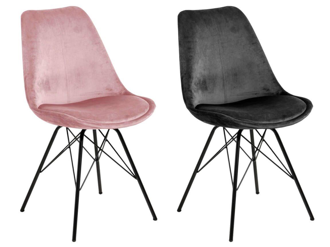 Udlejning / leje af stole i velour. Flotte stole i rosa og mørkegrå velour. Matcher fint vores sofaer og hvilestole. Lejepris pr. dag kr. 275,-