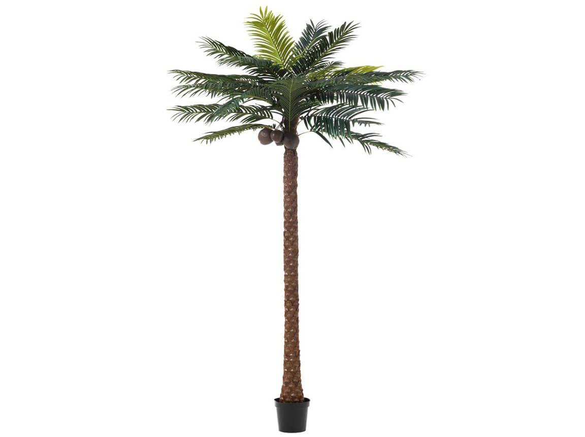 Udlejning / leje af kunstig palme. Kæmpe stor dekorativ kunstig palme. Perfekt til temafesten og sammen med vores bambusbar. Lejepris pr. dag kr. 300,-