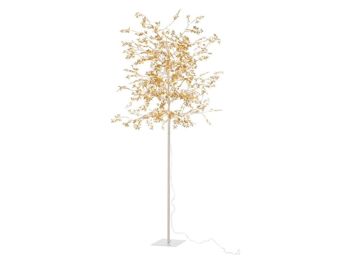 Udlejning / leje af kunstigt træ med LED-lys. Lejepris pr. dag kr. 285,-